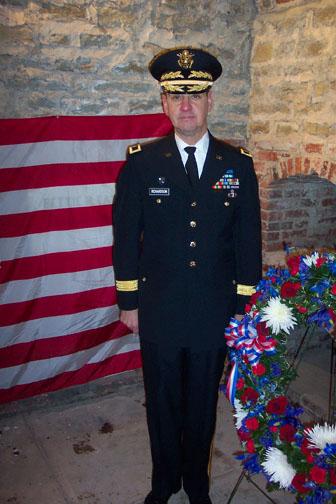 U.S. Army Brigadier General Richardson, Fort Snelling, Minnesota.
