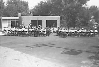 Dedication Ceremony, August 22, 1954.